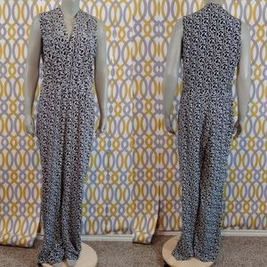 CYNTHIA ROWLEY New Silk Jumpsuit Size 12 NWT
